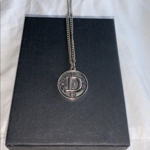 """Jewelry - """"D"""" initial necklace"""